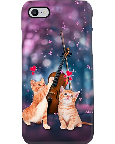 Cats happy my love phone case
