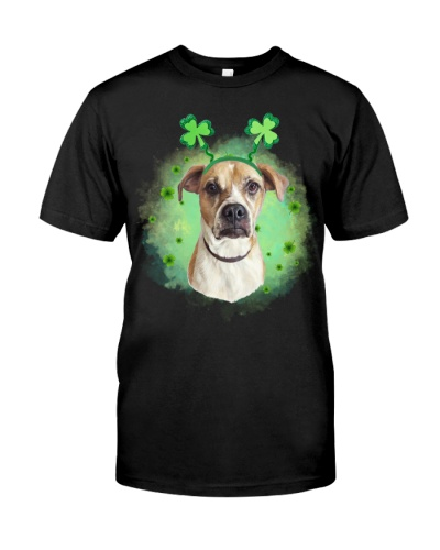 Boxer lucky leaves