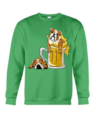 Ln bulldogs love beer