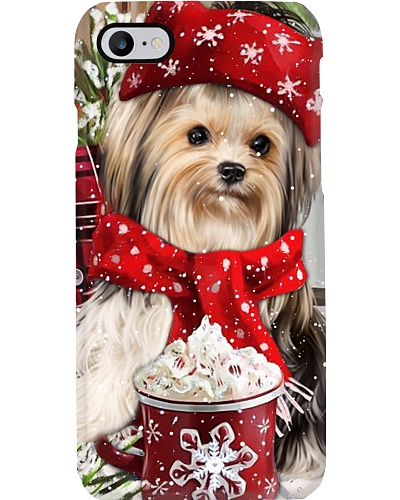 SHN 10 Christmas ice coffee Yorkshire Terrier 2