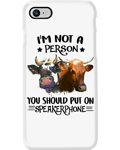 Cow speakerphone