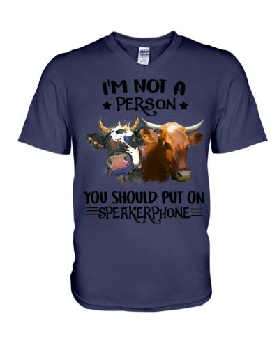 Cow speakerphone