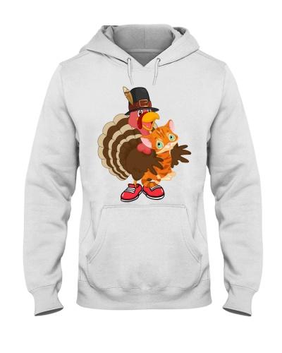 Cat fun turkey