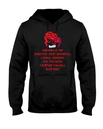 Qhn You Will Ever Meet Redhead Hoodie