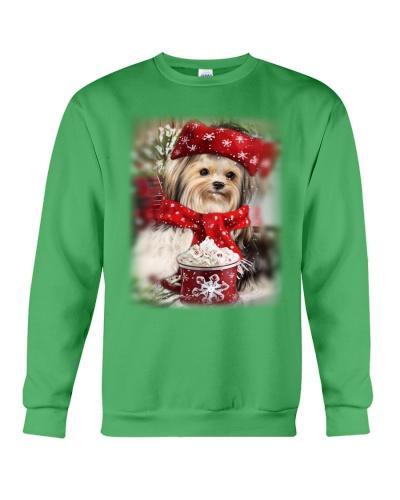 SHN 10 Ice coffee Yorkshire Terrier shirt