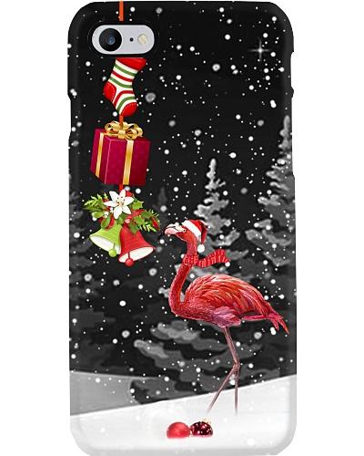 Flamingo Christmas strip