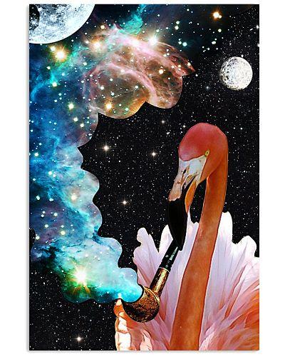 Flamingo magical poster