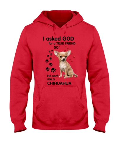 SHN Ask GOD for a true friend Chihuahua shirt
