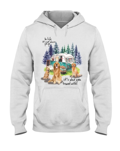 Golden Retriever it's who you travel with