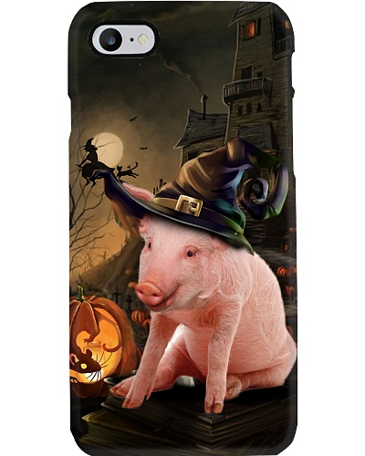 Pig halloween phone case