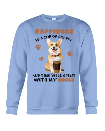 SHN 7 Coffee and time well spent with Corgi shirt