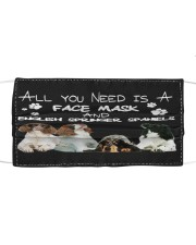 TH 12 English Springer Spaniel All You Need Cloth face mask front