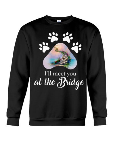Yorkshire terrier i will meet you at the bridge