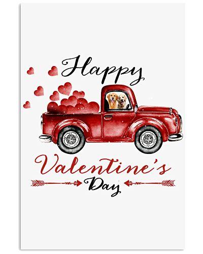 Golden retriever valentine day