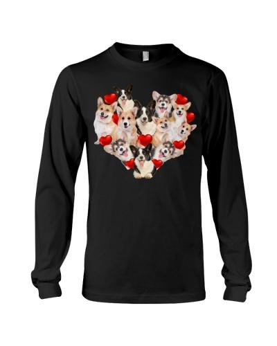 Full Of Heart Corgi Shirt