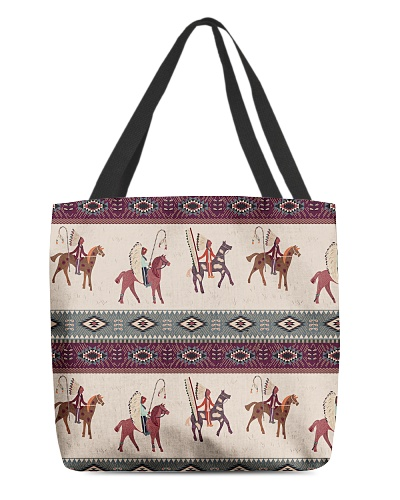 TTN 8 American Native Pattern All Over Tote