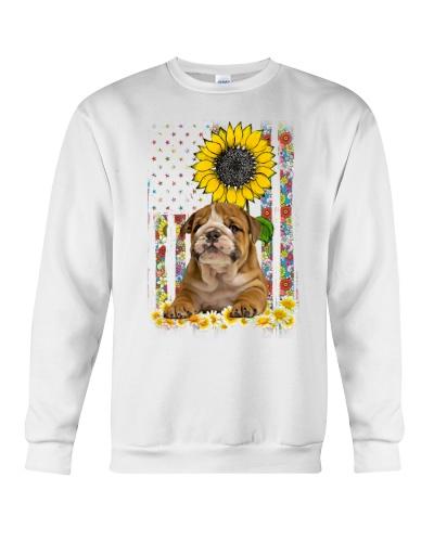 Ln 5 bulldog sunflower flag