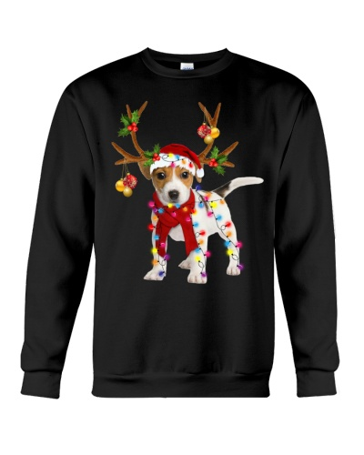 Jack russell gorgeous reindeer