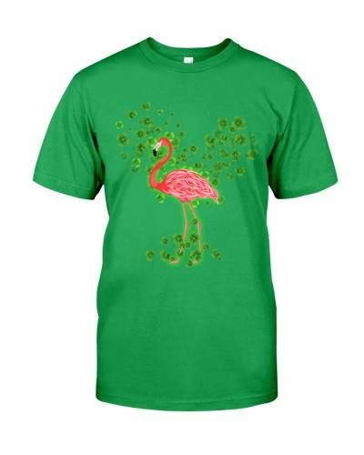Flamingo alw love ST Patrick's day