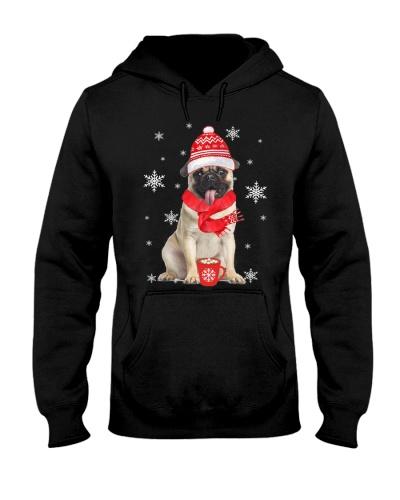 Ta Cute Pug Snow Coffee