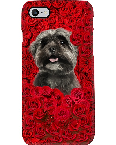 Shih Tzu in the rose world LM