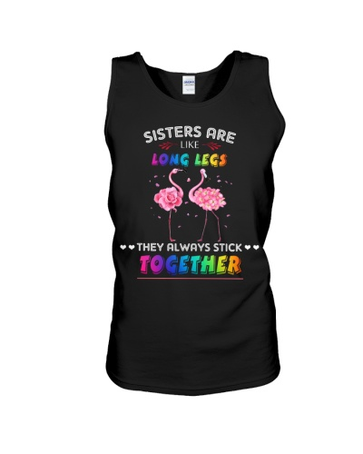 Flamingo sisters