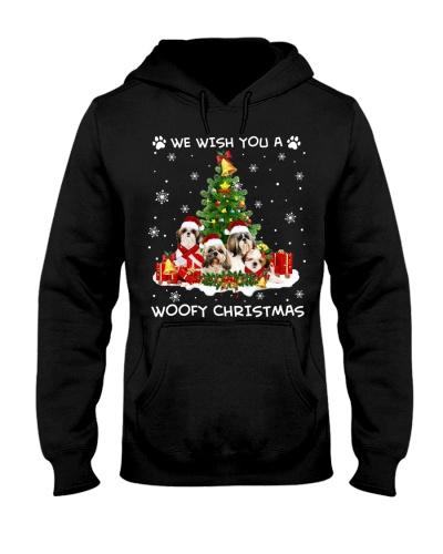 Shih Tzu Woofy Christmas