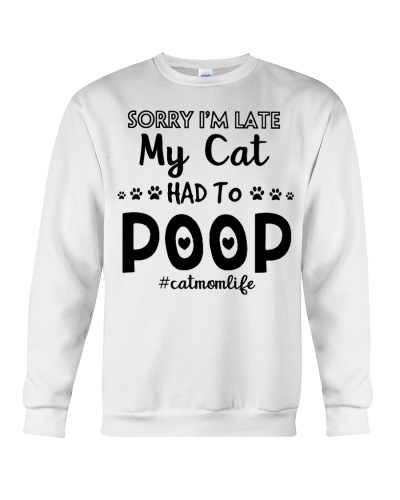 Sorry i'm late my cat had to poop