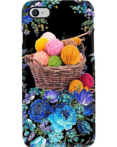 SHN 10 Blue peony Yarn Crocheting