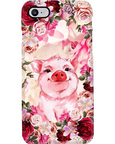 Pig in the world full of rose MG128