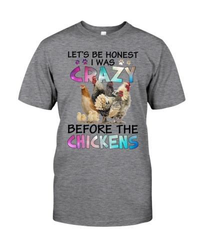 Chicken i was crazy