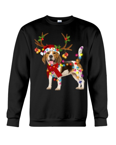 Beagle gorgeous reindeer