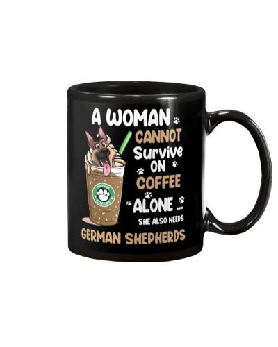 German Shepherds And Coffee