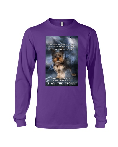 Yorkie I Am The Storm