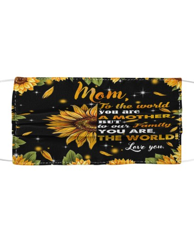 SHN 7 You are the world sunflower Mother Mom