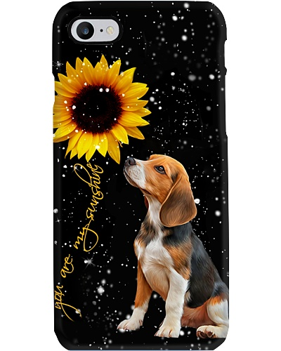 Beagle U r my sunshine phone case