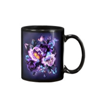 Butterfly purple bag Mug thumbnail