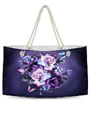 Butterfly purple bag Weekender Tote thumbnail