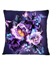 Butterfly purple bag Square Pillowcase thumbnail