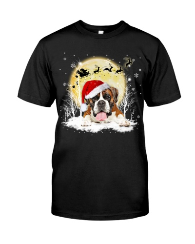 Boxer under snow shirt