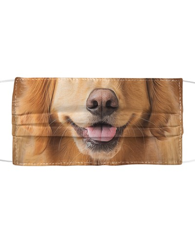 TH 2 Golden Retriever Face