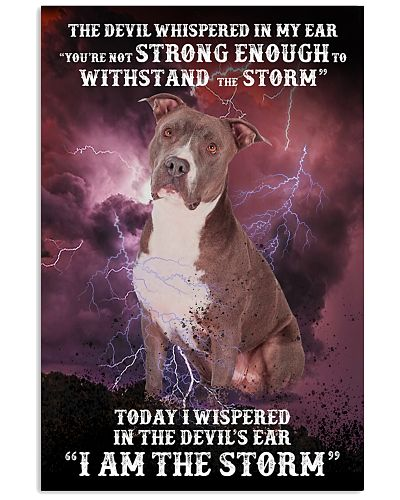 Withstand with devil iam strom Pitbull
