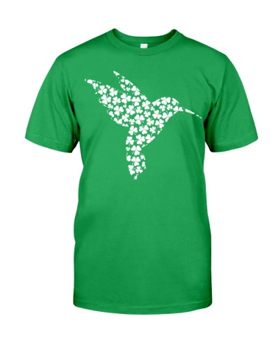 Hummingbird Irish Clover Shirt
