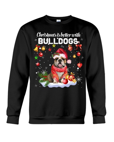 Bulldog christmas is better with