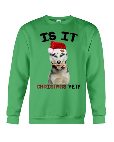 Siberian husky is it christmas yet