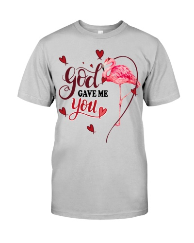 SHN 3 God gave me you Flamingo shirt