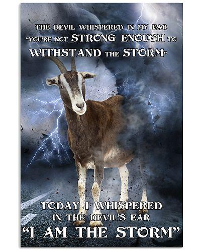 Goat I Am The Storm