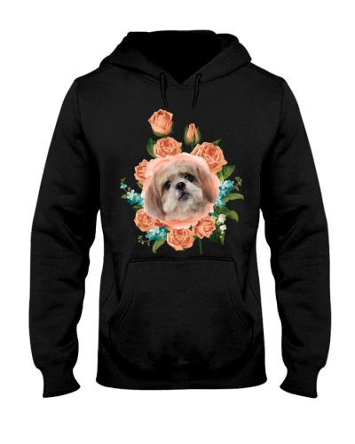 Ta 10 Lovely Shih Tzu and rose