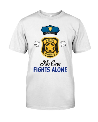 No One Fight Alone Strong Police