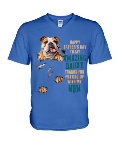 SHN 9 Happy father's day amazing English Bulldog
